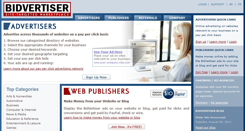 Bidvertiser Review