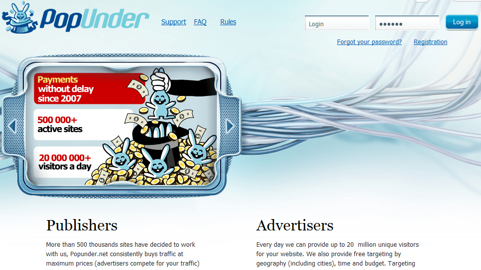 popunder net review ad nets review