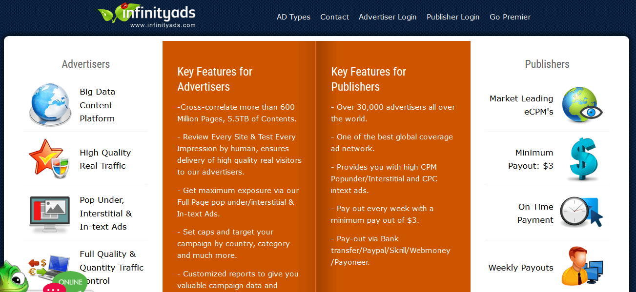 infinityads-review