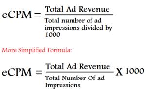 eCPM-calculation-formula