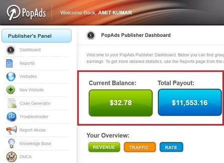 popads review  ad nets review